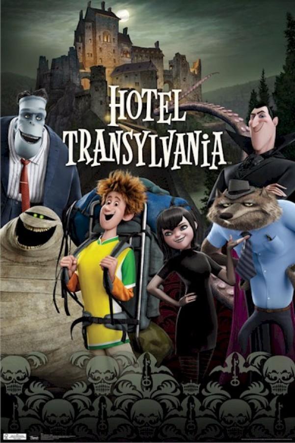 Hotel Transylvania - Cover Art