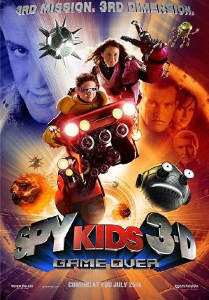 Spy Kids 3-D: Game Over - Cover Art