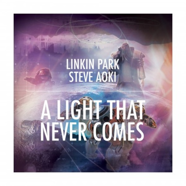 A Light That Never Comes (Single) - Cover Art