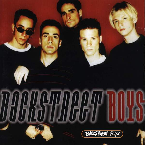 Backstreet Boys (EU) - Cover Art
