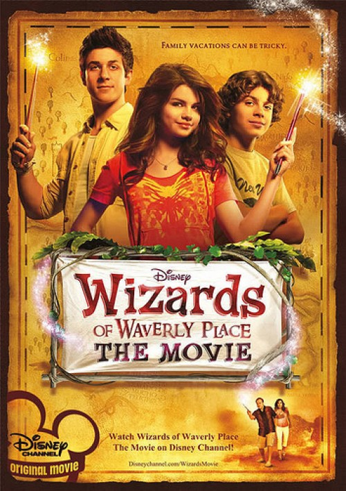 Wizards of Waverly Place: The Movie - Cover Art