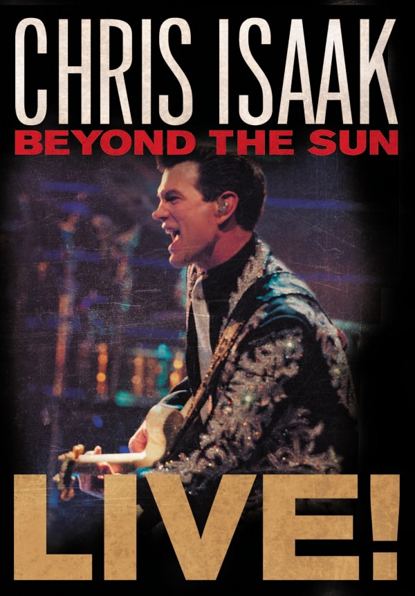Chris Isaak: Beyond The Sun Live - Cover Art