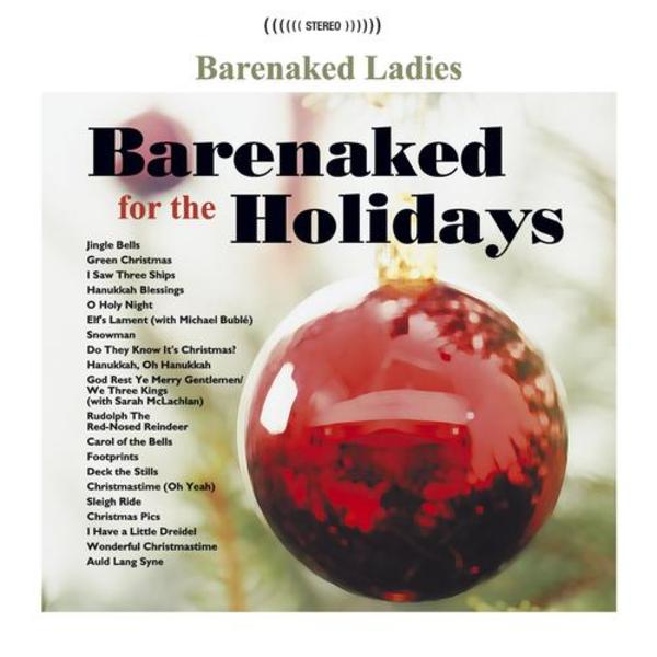 Barenaked for the Holidays - Cover Art