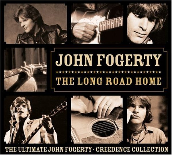 The Long Road Home - The Ultimate John Fogerty & Creedence Collection - Cover Art