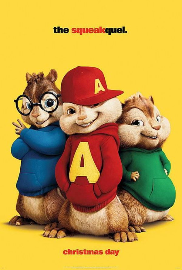 Alvin and the Chipmunks: The Squeakquel - Cover Art