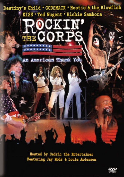 Rockin' The Corps [DVD] - Cover Art