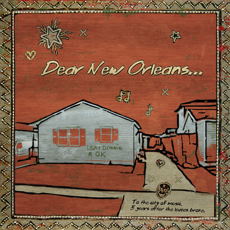 Dear New Orleans - Cover Art