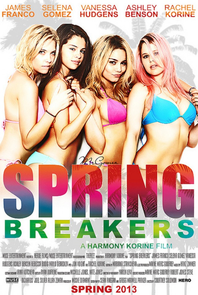 Spring Breakers - Cover Art