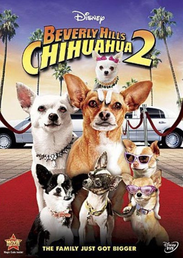 Beverly Hills Chihuahua 2 - Cover Art