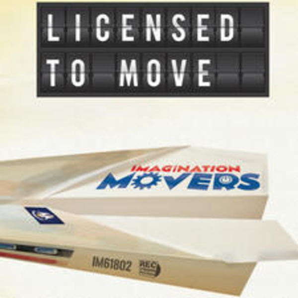 Licensed to Move - Cover Art