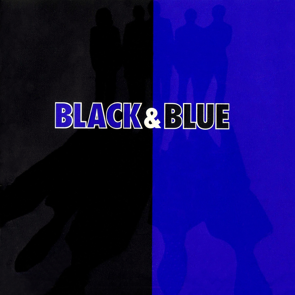 Black & Blue - Cover Art