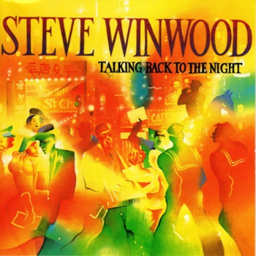 Steve Winwood: Talking Back to the Night - Cover Art