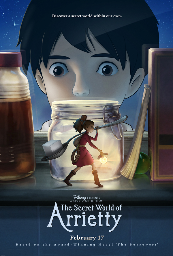The Secret World of Arrietty - Cover Art