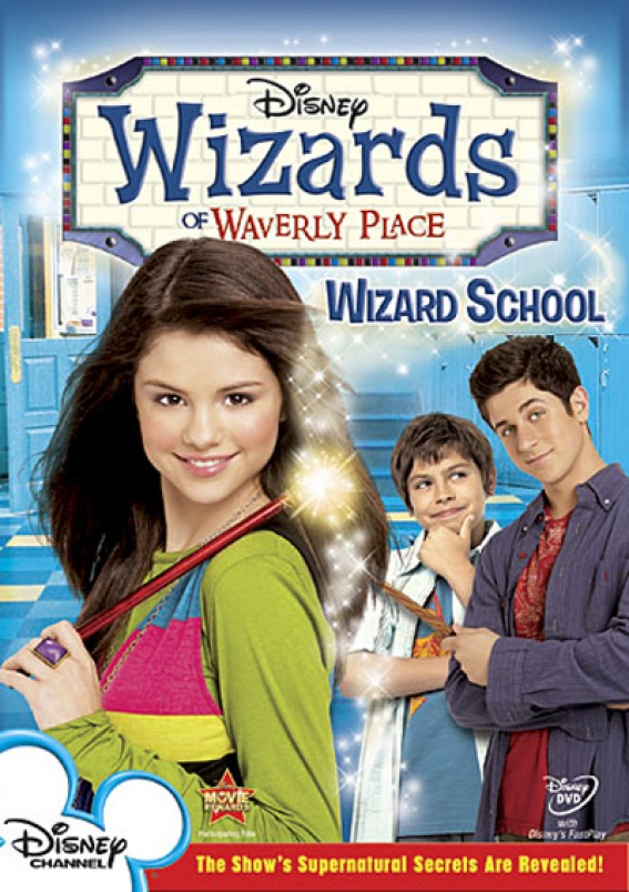 Wizards of Waverly Place (TV-serien) - Cover Art