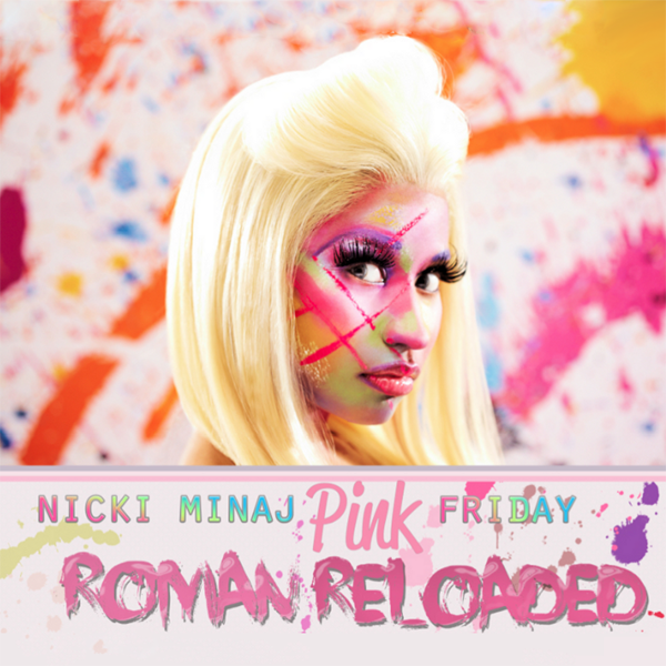 Pink Friday ... Roman Reloaded - Cover Art