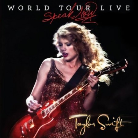 Speak Now World Tour Live CD/DVD - Cover Art