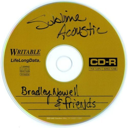 Sublime Acoustic: Bradley Nowell & Friends - Cover Art