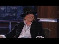 Axl Rose on Jimmy Kimmel Live PART 3