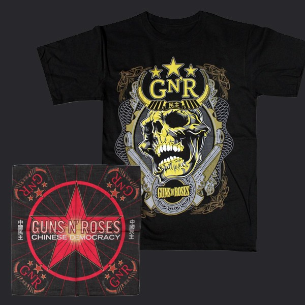 Limited Edition Nightrain Shirt + Bandana Bundle