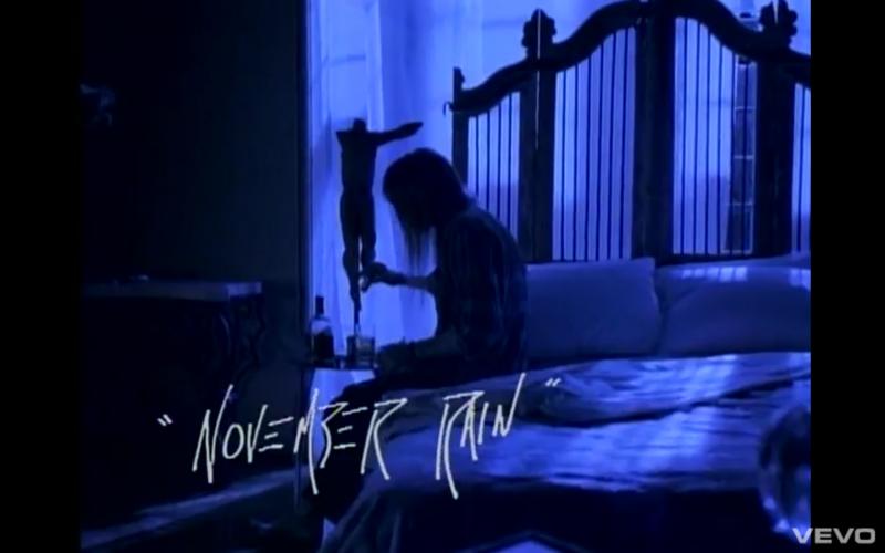 The Story of Guns N Roses November Rain  MY ROCK MIXTAPES