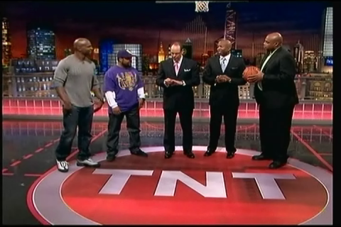 Ice Cube & Terry Crews on NBA TNT 5.11.10