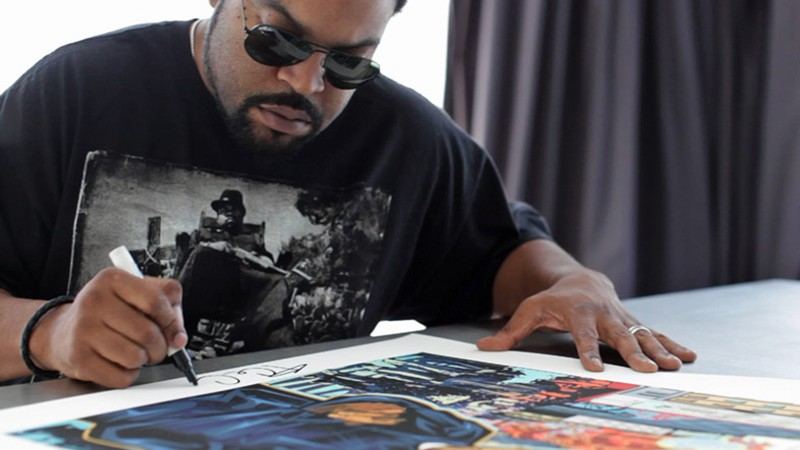 Ice Cube & RareInk
