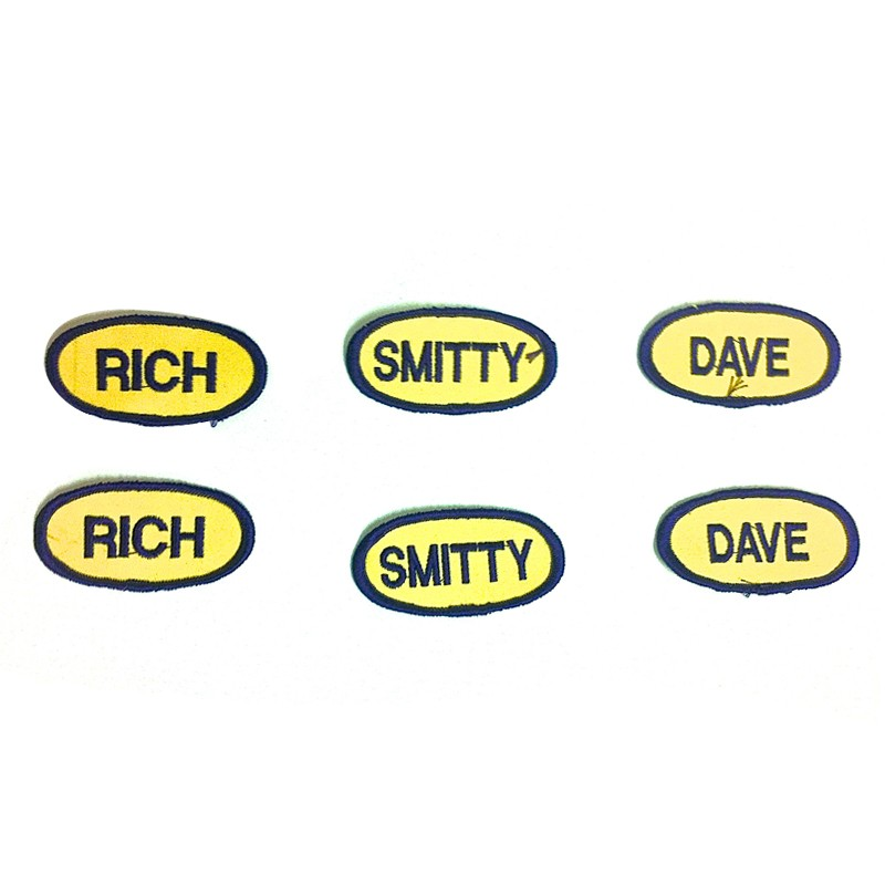 Mini Name Patches (Dave)