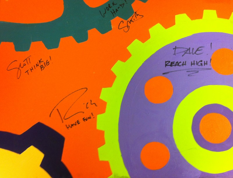 Movers Multi Gears Painting