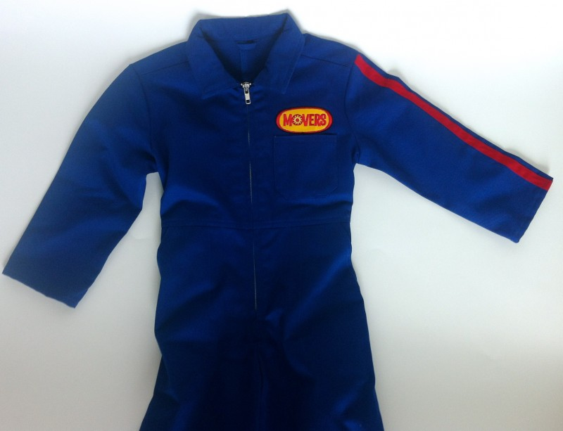 Mini Movers Suit with Disney Logo Patch