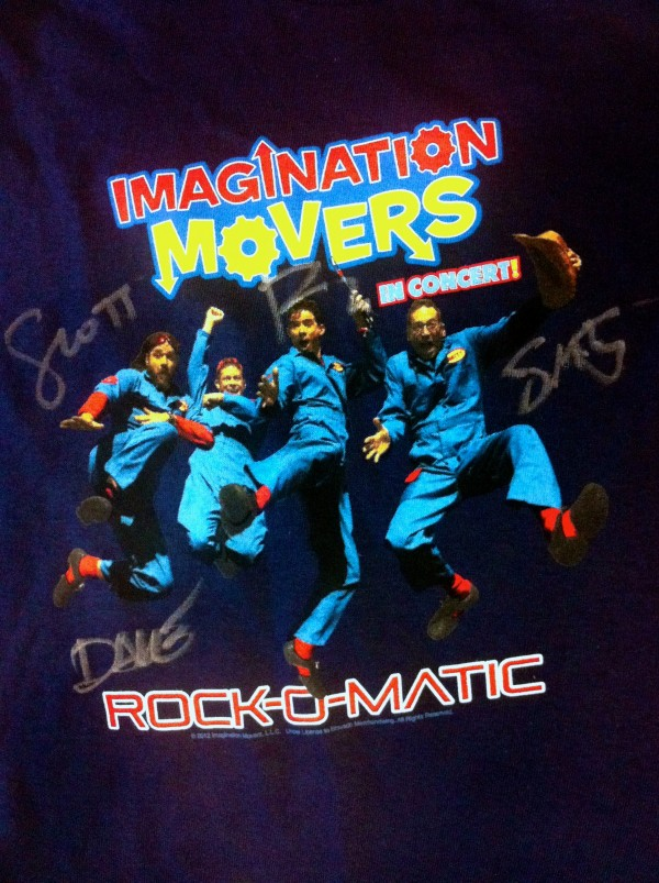 Autographed Rock-O-Matic Fall 2012 Tour Shirts
