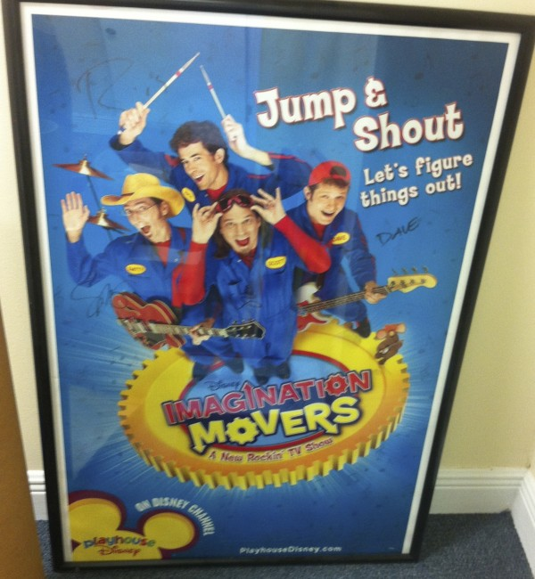 Autographed Jump and Shout Poster (Framed)