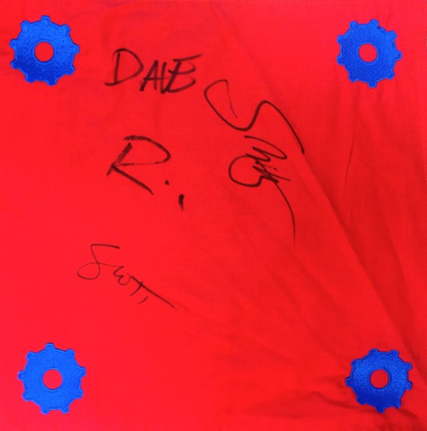 Autographed Movers Handkerchief