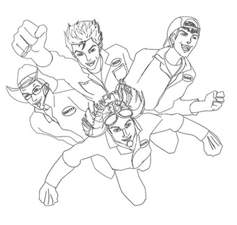 Home Imagination Movers Imagination Movers Coloring Pages