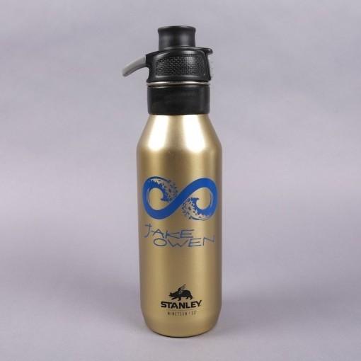 Jake Owen Gold Water Bottle