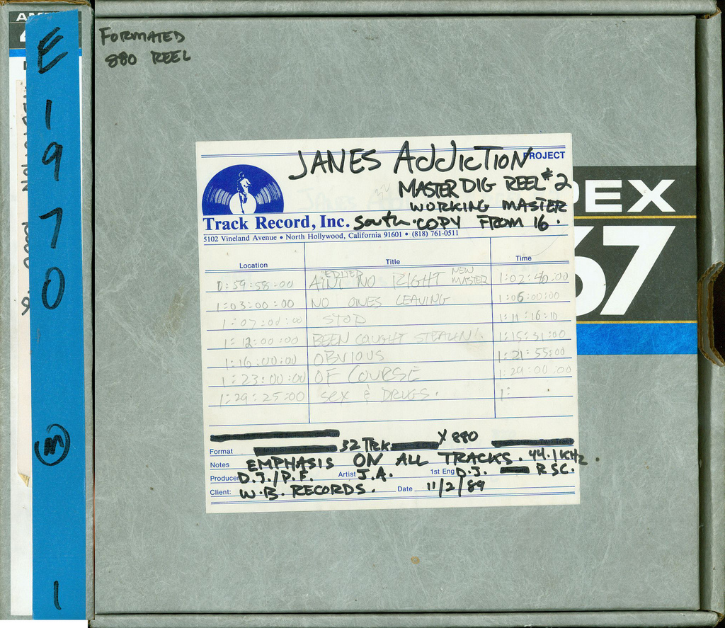 October/November, 1989