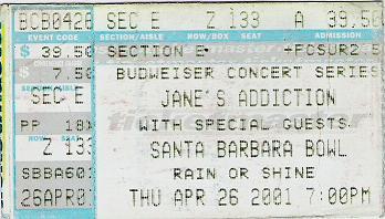 April 26, 2001