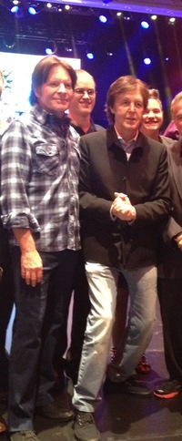 John & Paul McCartney at Private Event In Vegas 11/17/12
