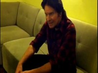 Chillin in Green Room-JOHN FOGERTY on LETTERMAN SHOW 11.17.11
