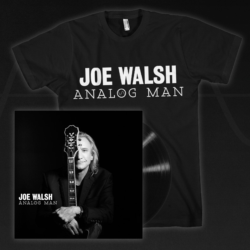 Analog Man Vinyl + T-Shirt Bundle