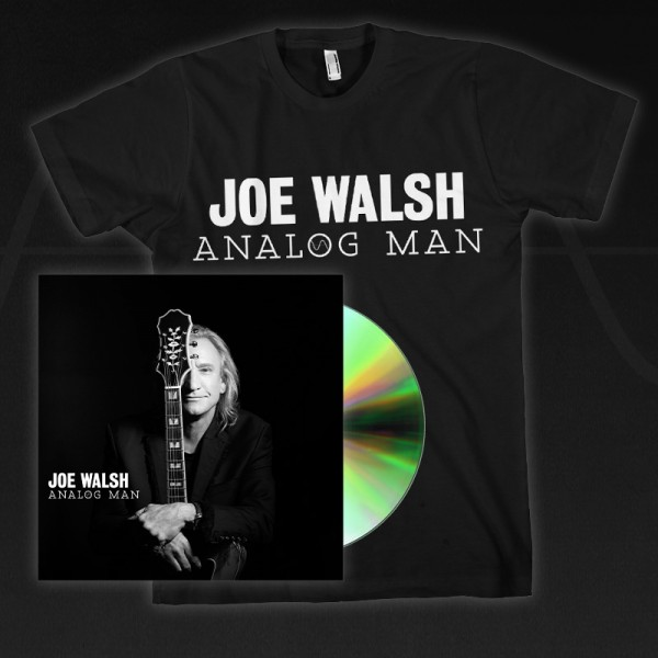 Analog Man CD/ DVD + T-Shirt Bundle image