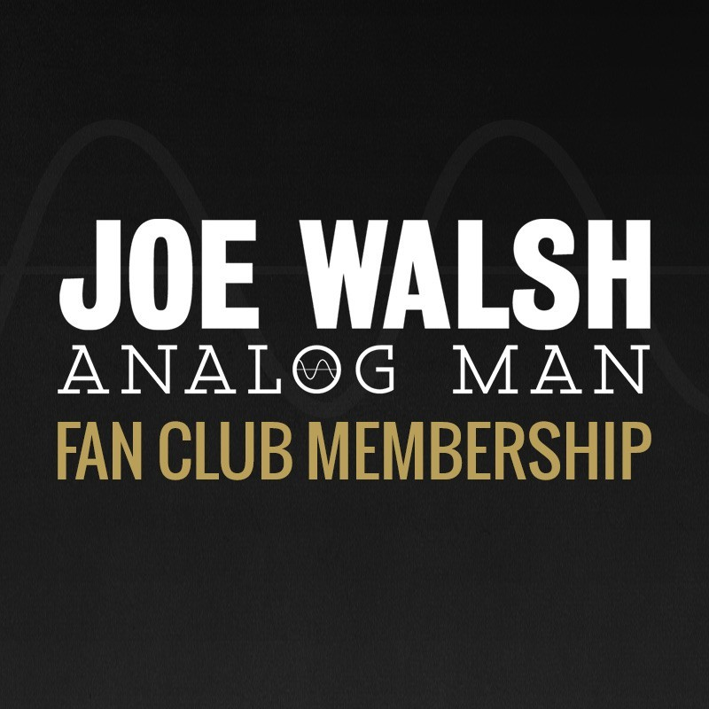 Analog Man Fan Club Membership Package