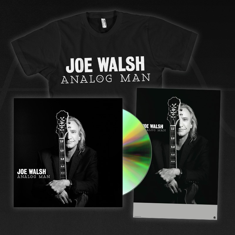 Analog Man CD / DVD + T-Shirt + Poster Bundle