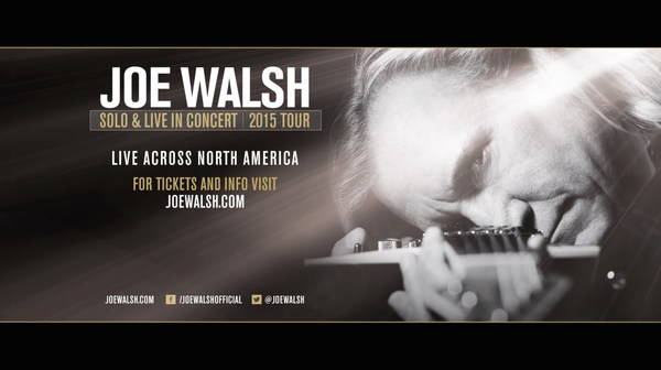 Joe Walsh Fall 2015 Tour
