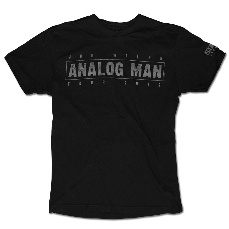 Analog Man Tour T-Shirt