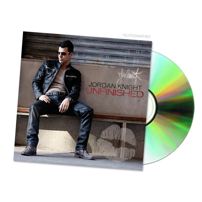 Unfinished CD *Autographed*