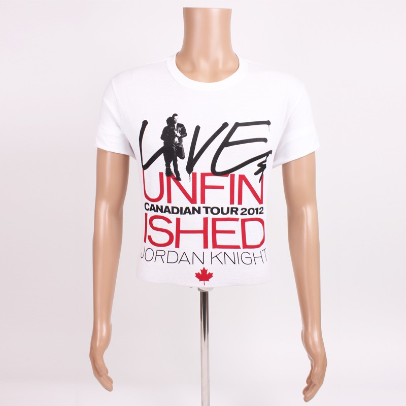 Live & Unfinished Shirt - Canada