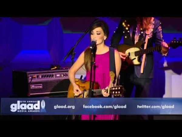 'Follow Your Arrow' at The GLAAD Awards