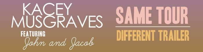 Kacey Musgraves - Same Tour, Different Trailer