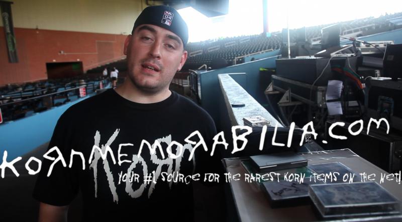 2010/07/24 - Hartford, CT - Korn memorabilia