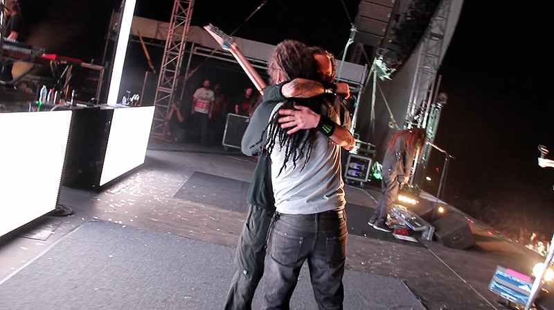 2012/05/05 - Rockingham, NC - 'Blind' live Feat. Brian 'Head' Welch